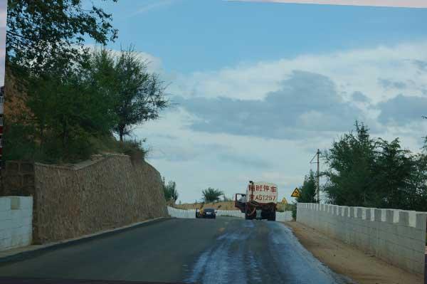 呼和浩特道路施工